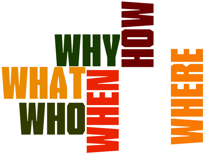 why-what-how-where-when-who